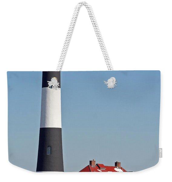 Fire Island Snow Weekender Tote Bag