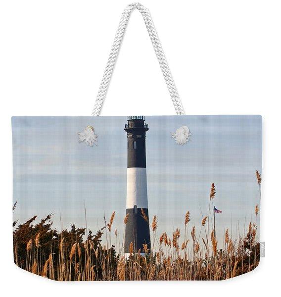Fire Island Tower Weekender Tote Bag