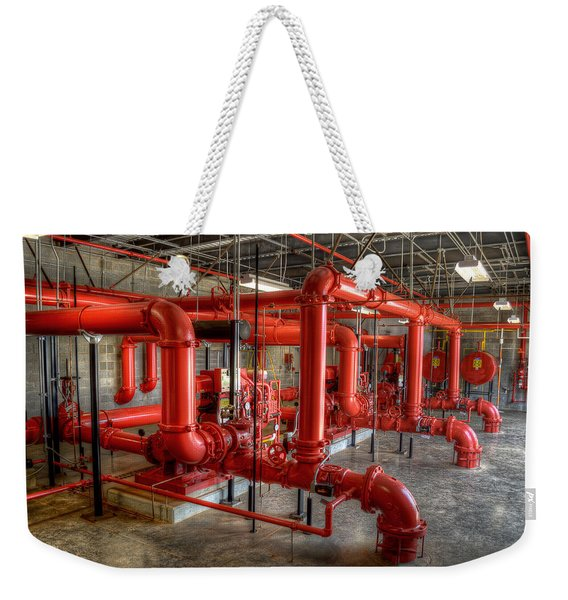 Fire Pump Room 2 Weekender Tote Bag
