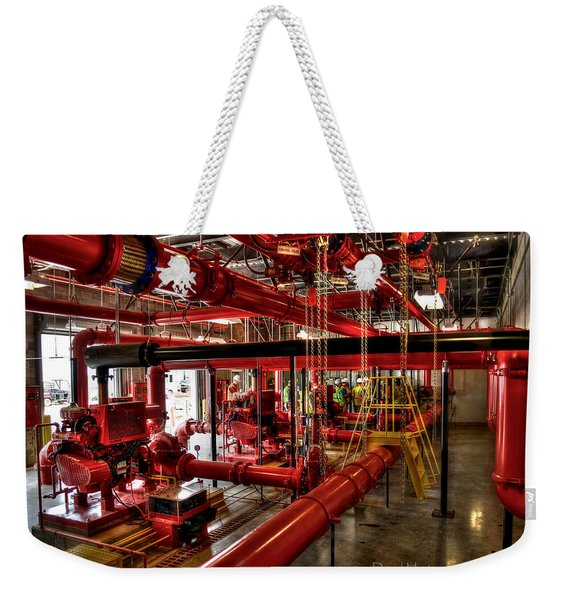Fire Pumps Weekender Tote Bag