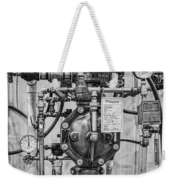 Fire Sprinkler System Riser Weekender Tote Bag