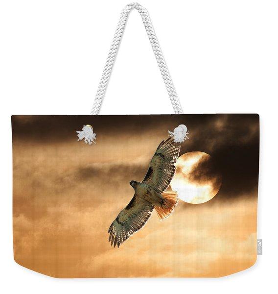 Firebird Weekender Tote Bag