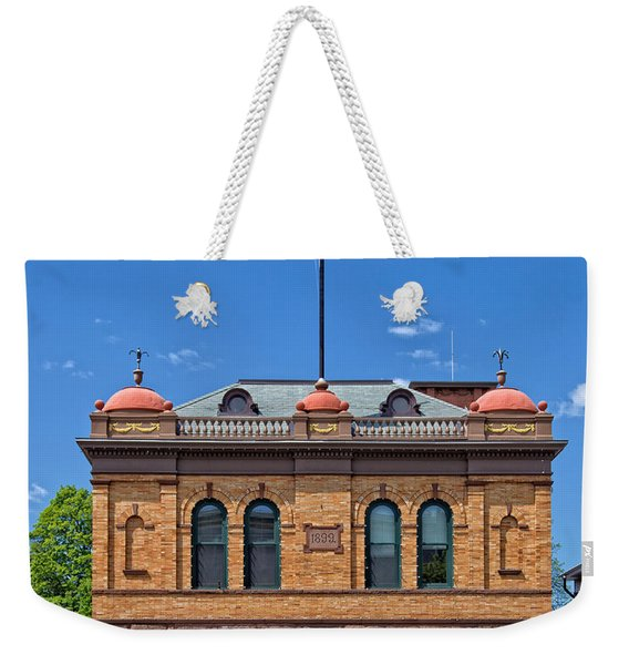 Firehouse Middletown Connecticut Weekender Tote Bag
