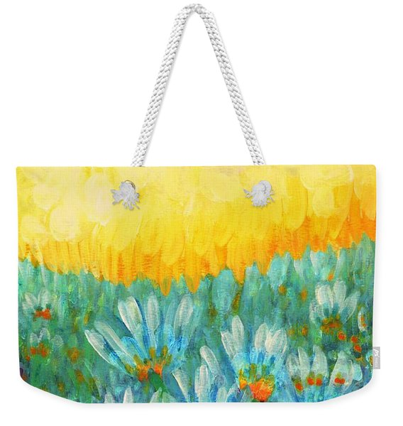 Firelight Weekender Tote Bag