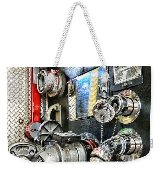 Fireman - Control Panel Weekender Tote Bag