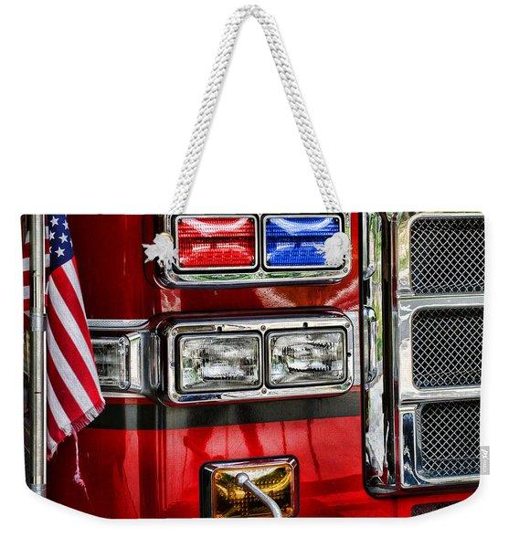Fireman - Fire Engine Weekender Tote Bag