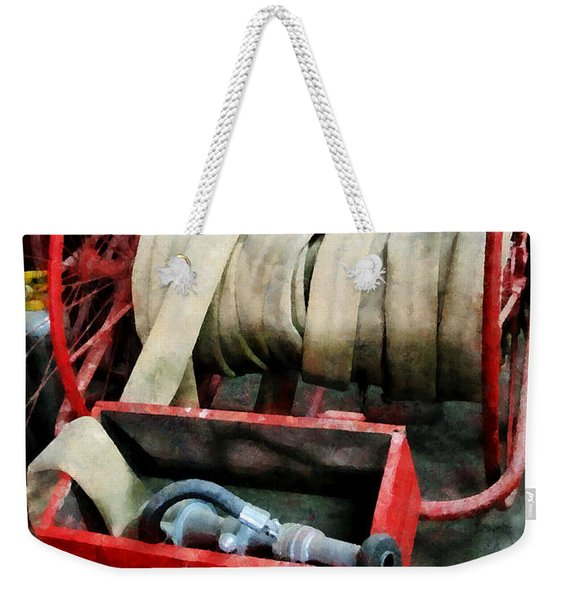 Fireman - Fire Hoses Weekender Tote Bag