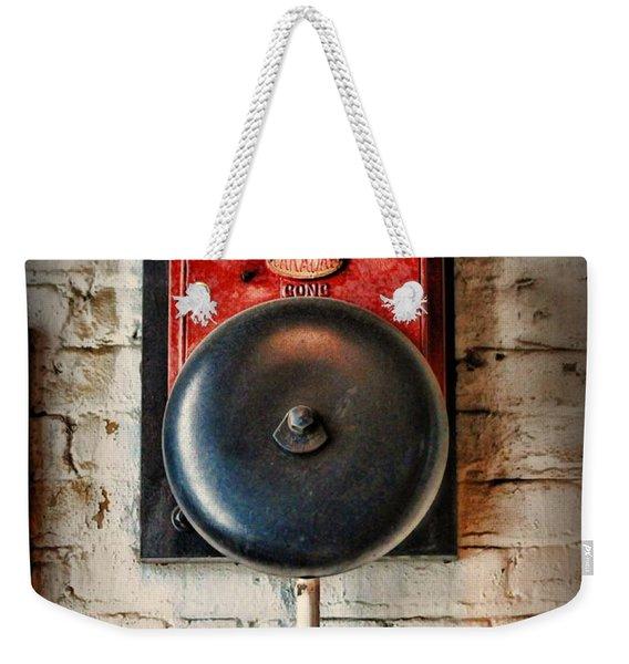 Fireman - Vintage Fire Bell Weekender Tote Bag