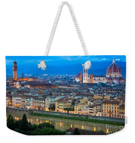 Firenze By Night Weekender Tote Bag