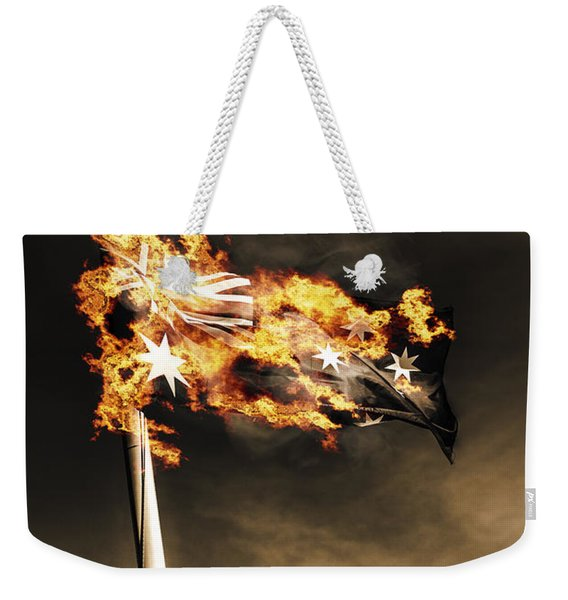 Fires Of Australian Oppression Weekender Tote Bag