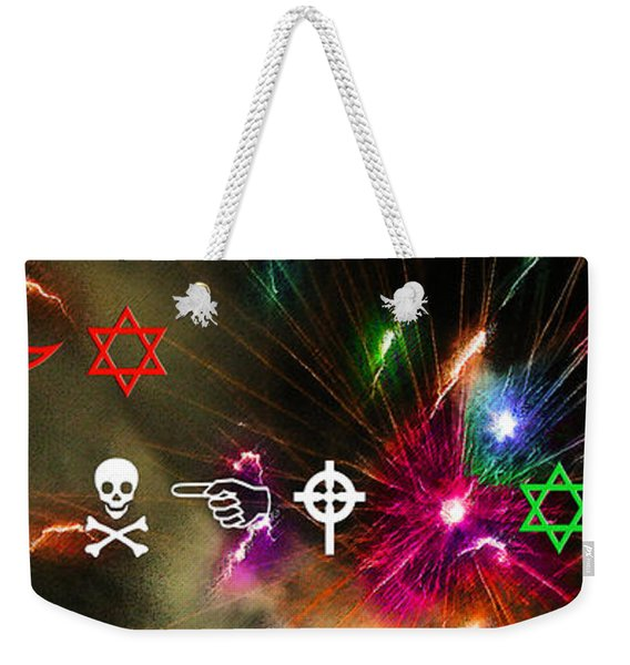 A Wingding Happy New Year Weekender Tote Bag