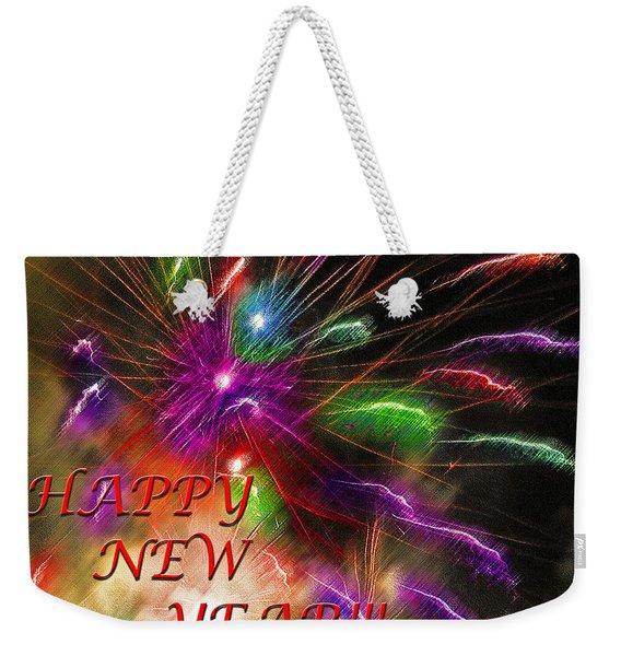 Fireworks - Happy New Year Weekender Tote Bag