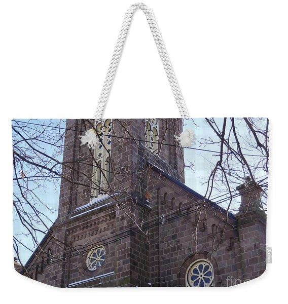 First Baptist Church Weekender Tote Bag