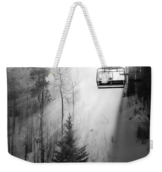 First Chair Weekender Tote Bag