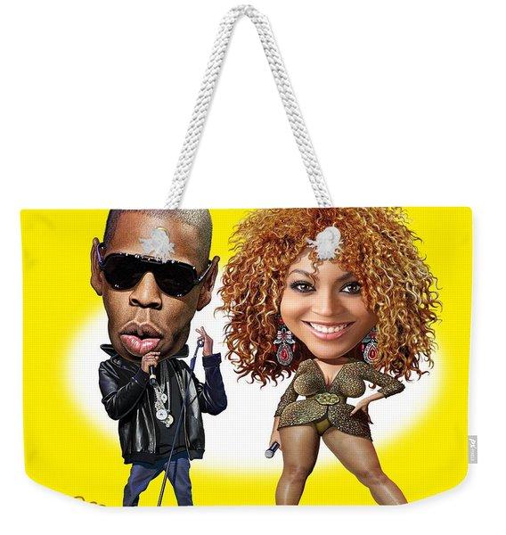 First Couple Weekender Tote Bag