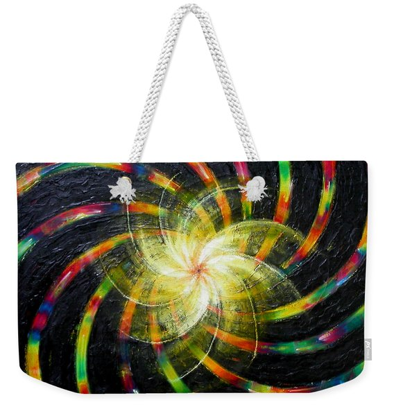 First Day Of Creation Weekender Tote Bag
