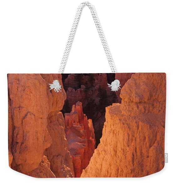 First Light On Hoodoos Weekender Tote Bag