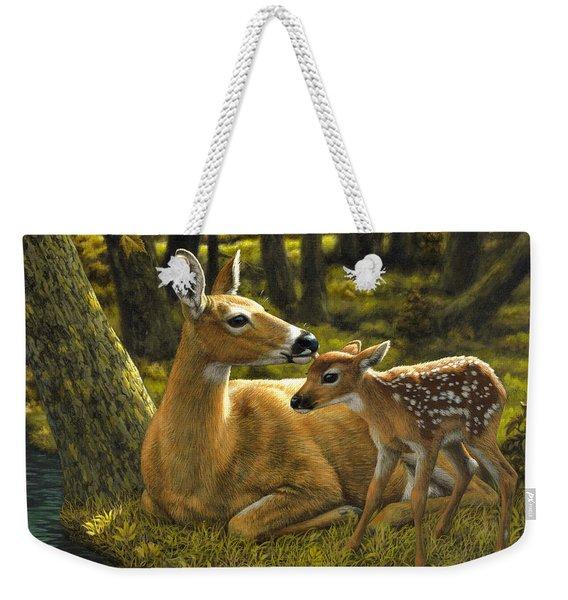 First Spring - Variation Weekender Tote Bag
