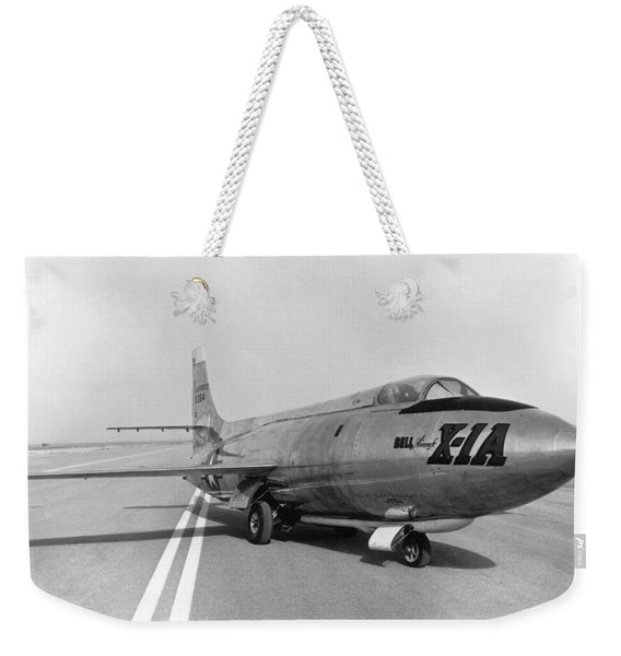 First Supersonic Aircraft, Bell X-1 Weekender Tote Bag