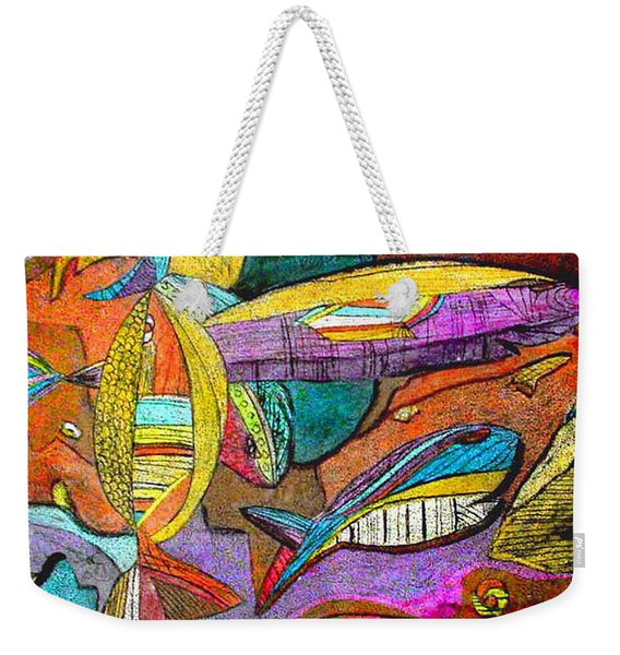 Fish And Chips Weekender Tote Bag