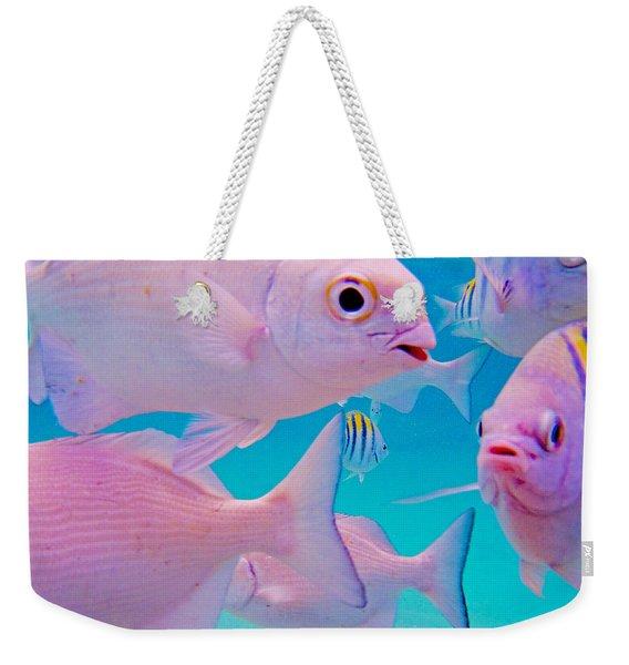 Fish Frenzy Weekender Tote Bag