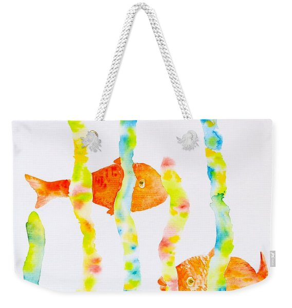 Fish Fun Weekender Tote Bag