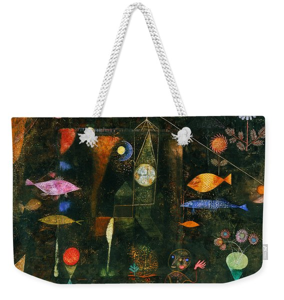 Fish Magic Weekender Tote Bag