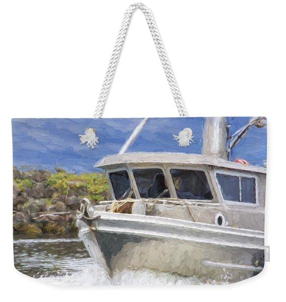 Fisherman's Prayer - West Coast Art Weekender Tote Bag