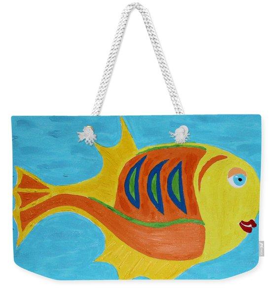 Fishie Weekender Tote Bag