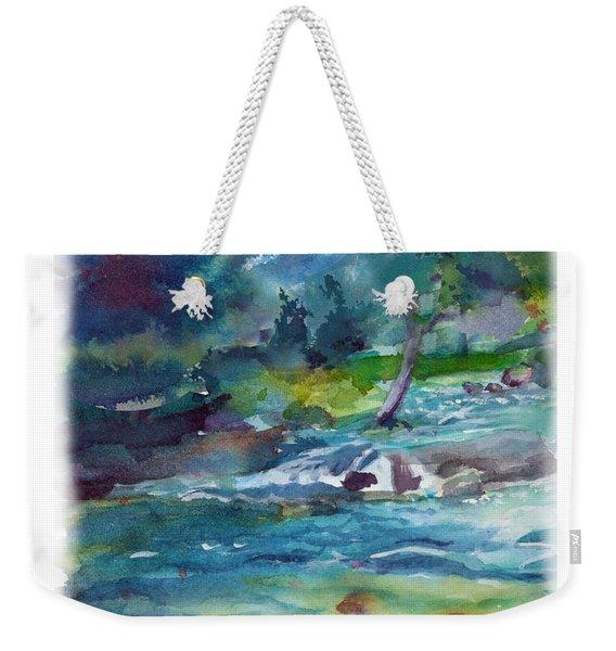Fishin' Hole 2 Weekender Tote Bag