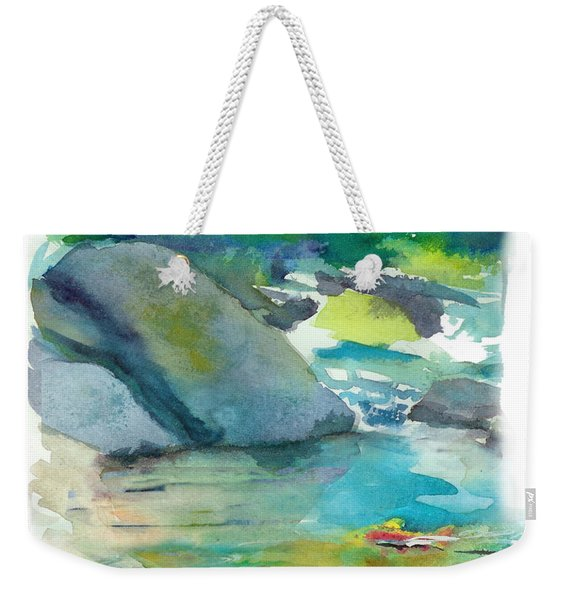 Fishin' Hole Weekender Tote Bag