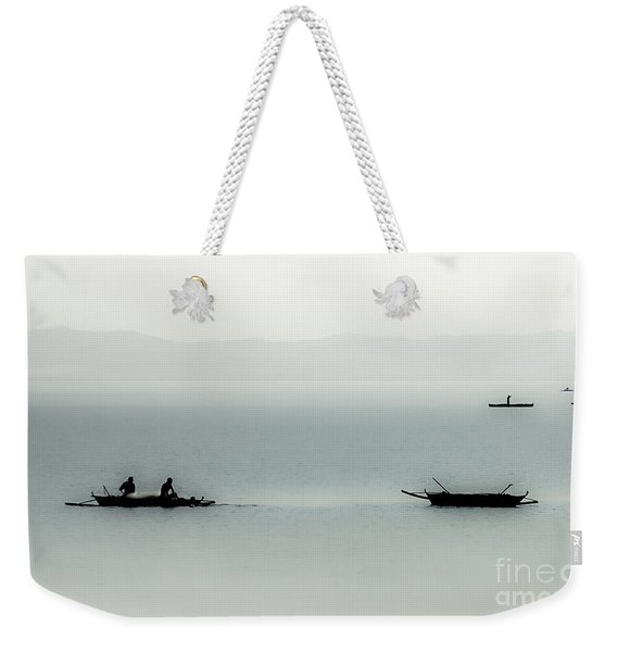 Fishing On The Philippine Sea   Weekender Tote Bag