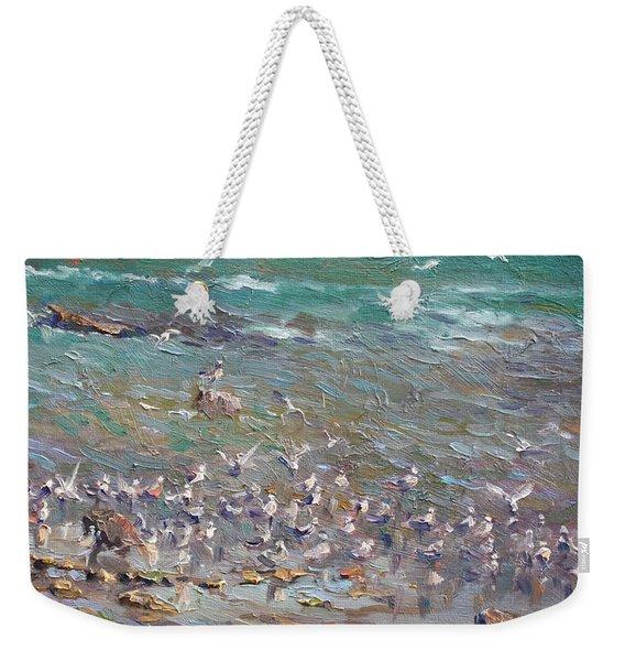 Fishing Time Weekender Tote Bag