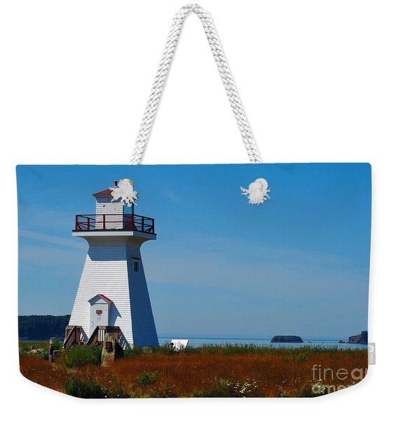 Five Islands Lighthouse Weekender Tote Bag