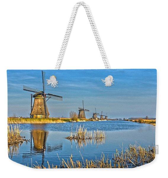 Five Windmills At Kinderdijk Weekender Tote Bag