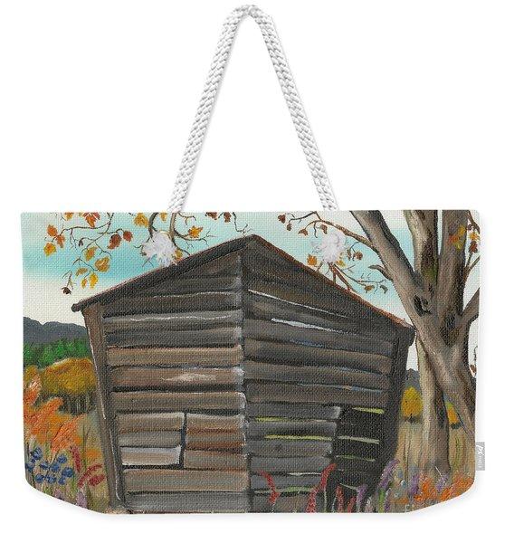 Autumn - Shack - Woodshed Weekender Tote Bag