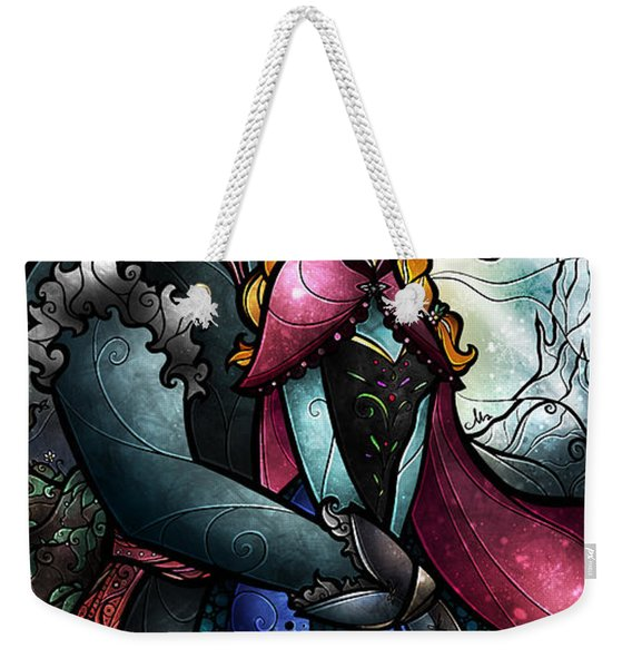 We Found Love In A Frozen Place Weekender Tote Bag