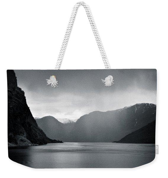 Fjord Rain Weekender Tote Bag