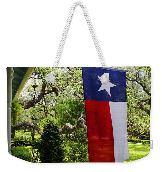 Texas The Lone Star State -  Luther Fine Art Weekender Tote Bag