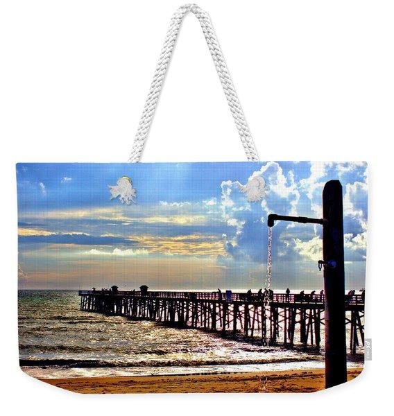 Flagler Pier Heaven Weekender Tote Bag