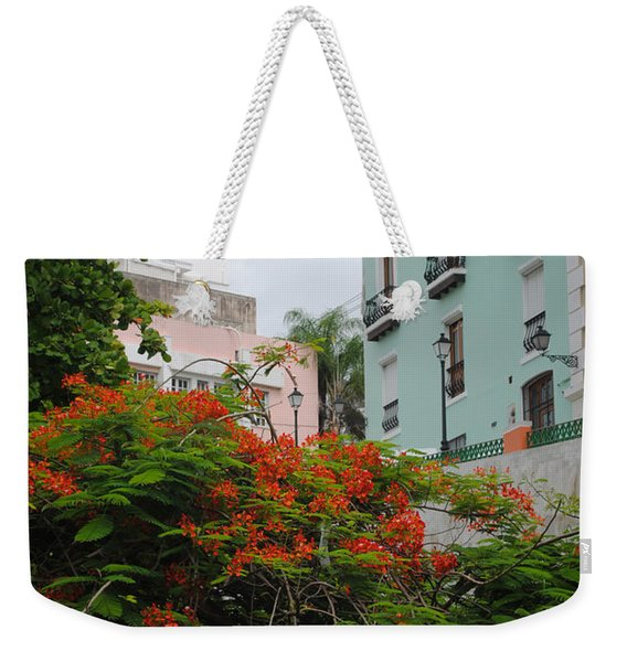 Flamboyan In Park Weekender Tote Bag