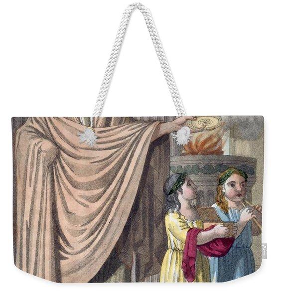 Flamen, 1796 Weekender Tote Bag