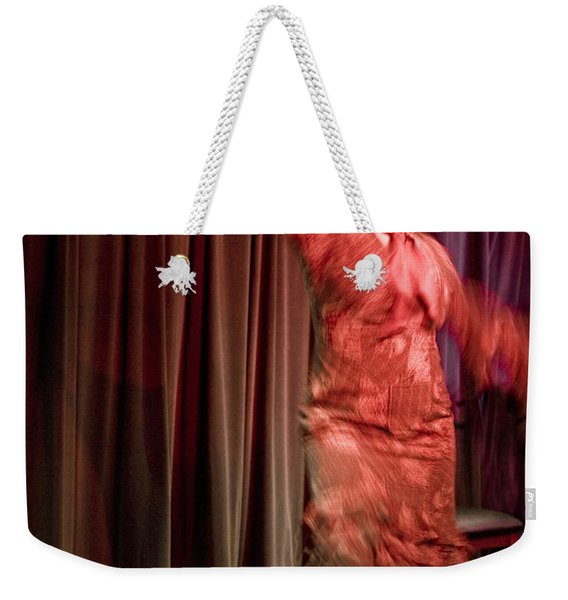 Weekender Tote Bag featuring the photograph Flamenco Series 13 by Catherine Sobredo