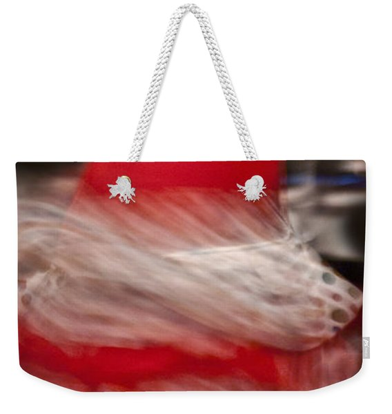 Weekender Tote Bag featuring the photograph Flamenco Series 3 by Catherine Sobredo