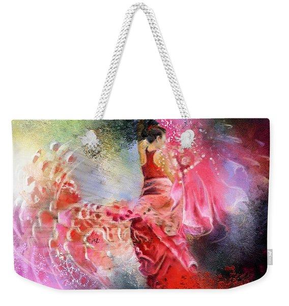 Flamencoscape 13 Weekender Tote Bag