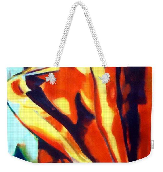 Flames Of Needs Weekender Tote Bag