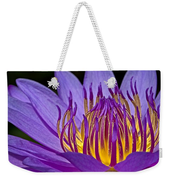 Flaming Heart Weekender Tote Bag