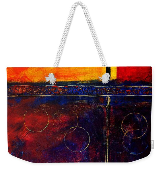 Flash Abstract Painting Weekender Tote Bag