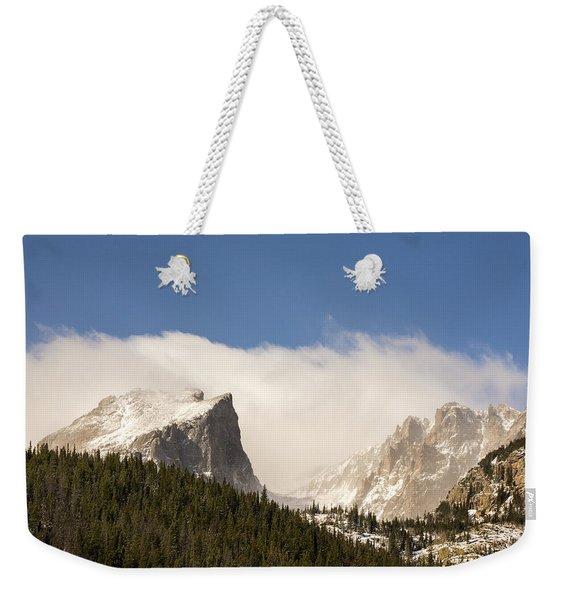 Flat Top Mountain - Rocky Mountain National Park Estes Park Colorado Weekender Tote Bag