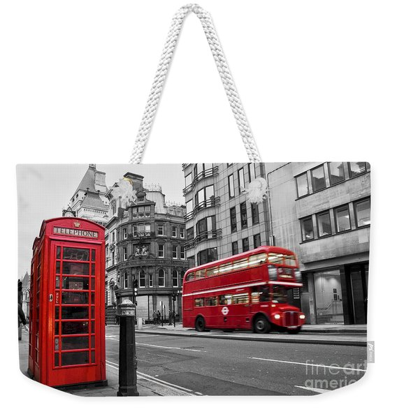 Fleet Street London Weekender Tote Bag